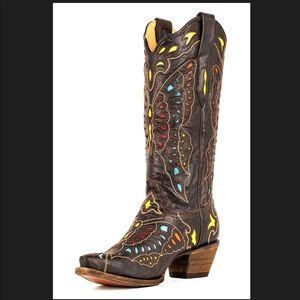 Corral Butterfly Boots